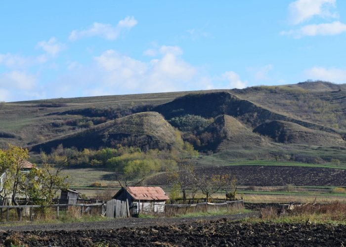 Alunecari in Campia Transilvaniei